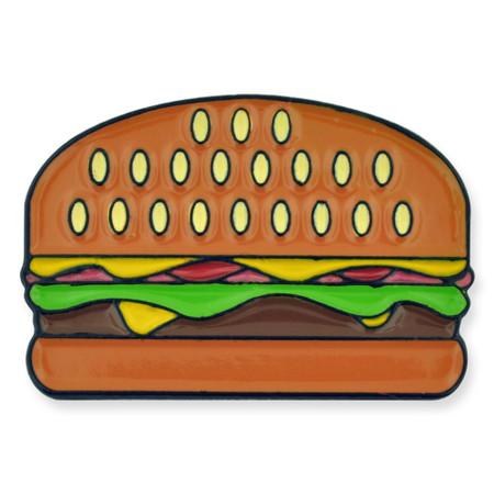 Burger Lapel Pin