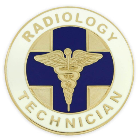 Radiology Technician Pin Front