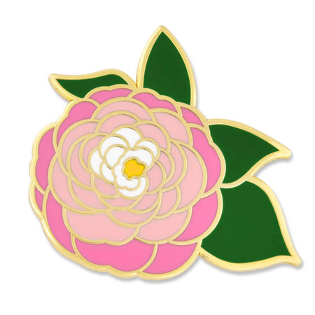 Peony Pin Front