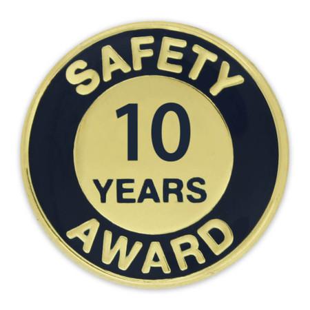 Safety Award Pin - 10 Years
