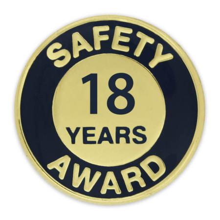 Safety Award Pin - 18 Years