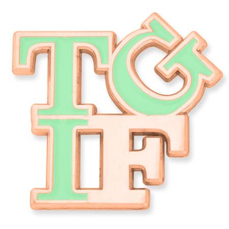 TGIF Lapel Pin