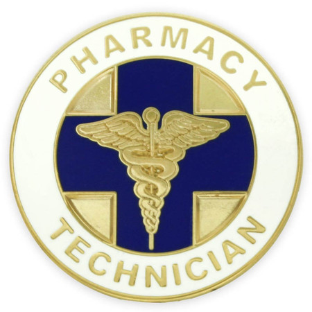 Pharmacy Technician Pin Front