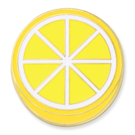 Lemon Lapel Pin