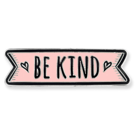 Be Kind Lapel Pin Front