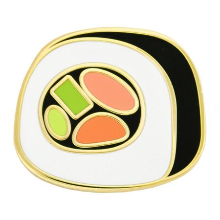 Sushi Roll Lapel Pin