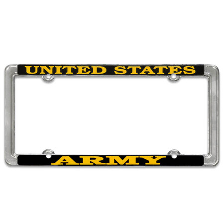 US Air Force License Plate Thin Frame