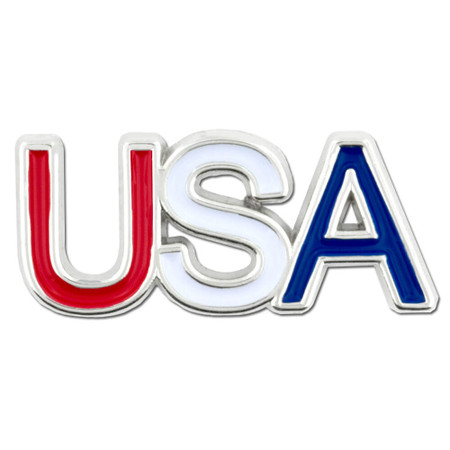 USA Lapel Pin Front