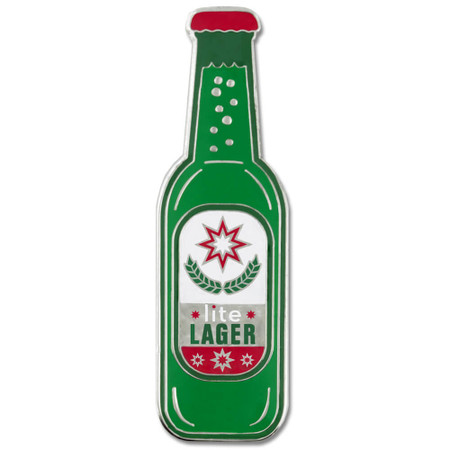 Lite Lager Pin Front