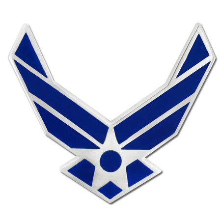 U.S. Air Force Wing Pin Front