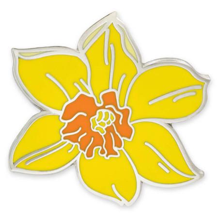 Daffodil Lapel Pin Front