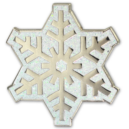 Glitter snowflake Front