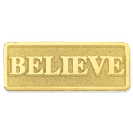 Believe Pin