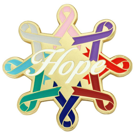 Awareness Ribbons Hope Pin