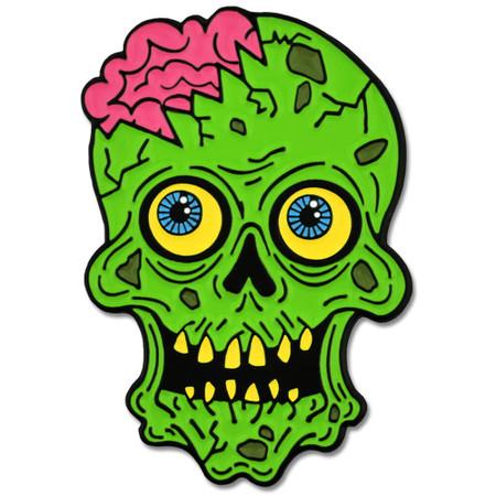 Zombie Brains Pin