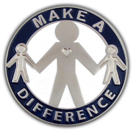 Make a Difference Pin