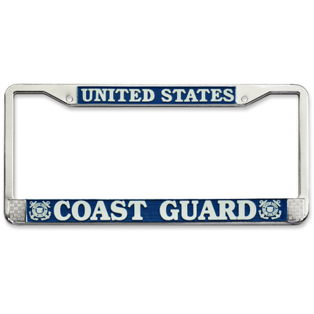 US Coast Guard License Plate Frame