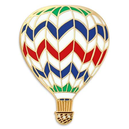 Hot Air Balloon Pin Front