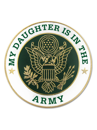 U.S. Army Daughter Pin Front