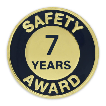 Safety Award Pin - 7 Years