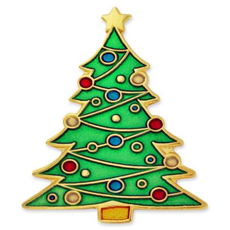 Christmas Tree Pin Front