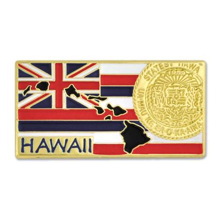 Hawaii Pin Front