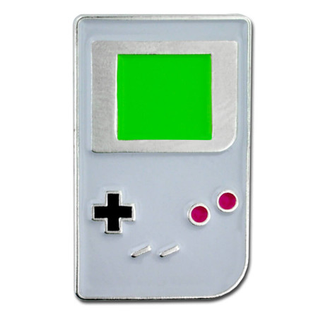 Game Boy Lapel Pin Front