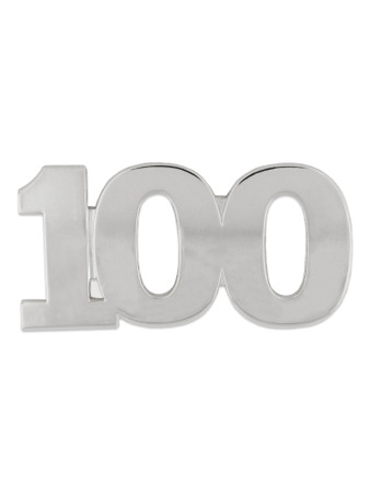Silver 100 Pin Front