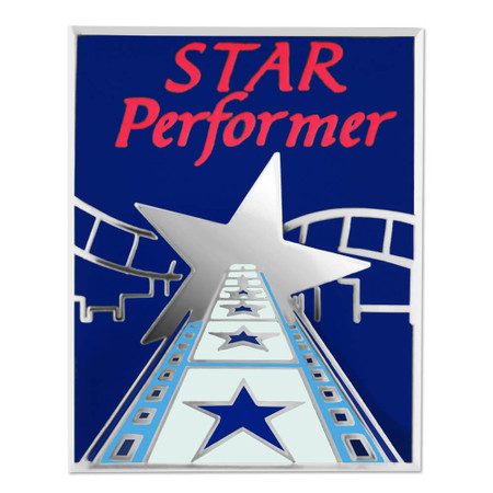 Star Performer Lapel Pin Front