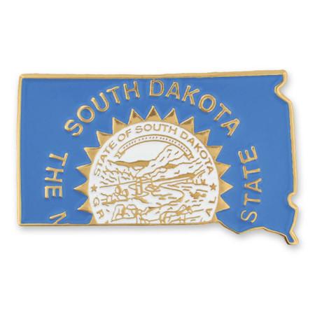 South Dakota Pin Front