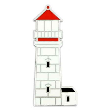 Lighthouse Lapel Pin Front