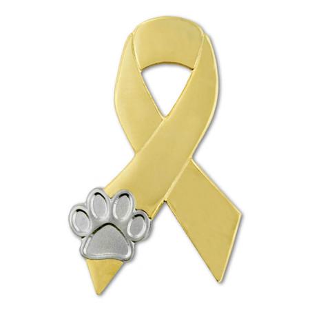 Animal Cruelty Awareness Ribbon Front