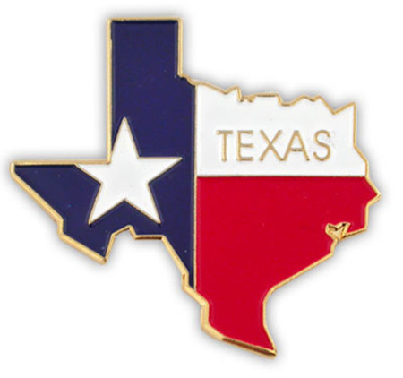 Texas Pin Front