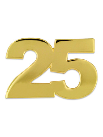 Gold 25 Pin Front