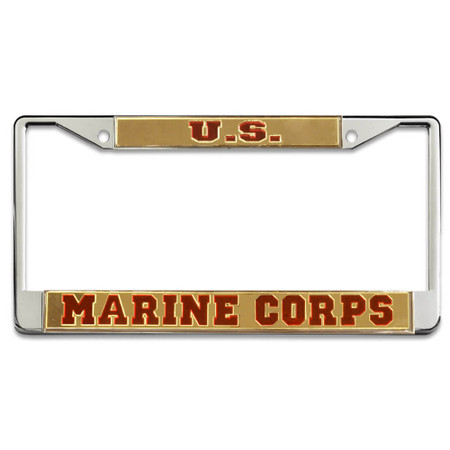 US Marine Corps Mirror License Plate Frame