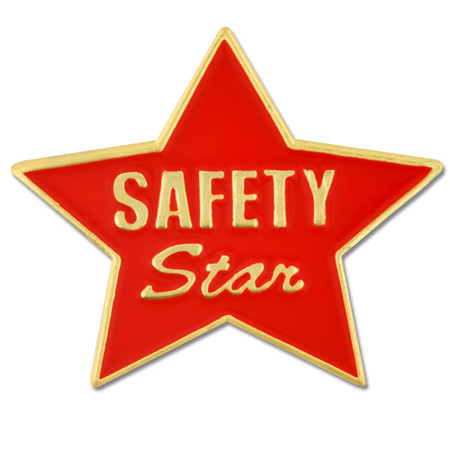 Safety Star - Red Pin