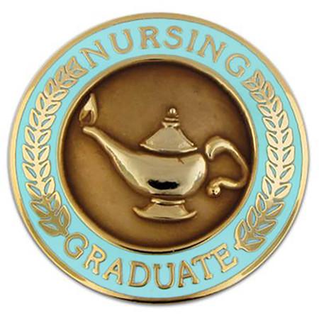 Nursing Graduate Pin Front