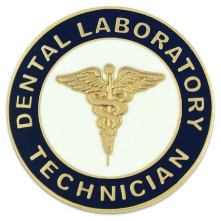Dental Laboratory Technician Pin Front