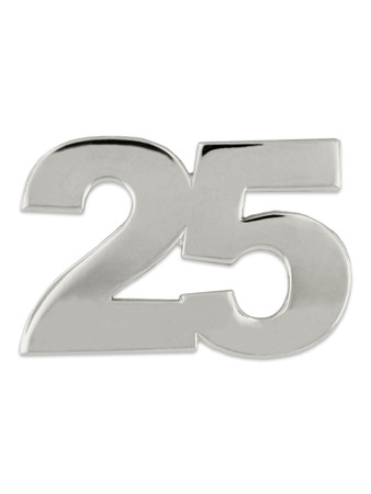 Silver 25 Pin Front