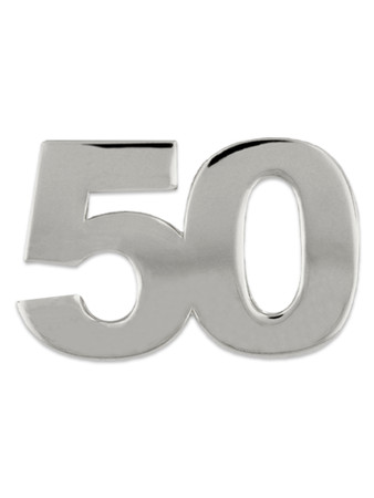 Silver 50 Pin Front