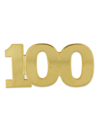 Gold 100 Pin Front