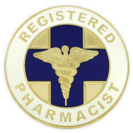 Registered Pharmacist Pin Front