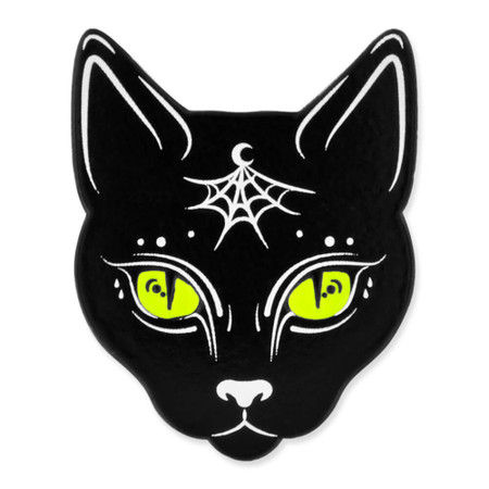 Gypsy Cat Pin Front
