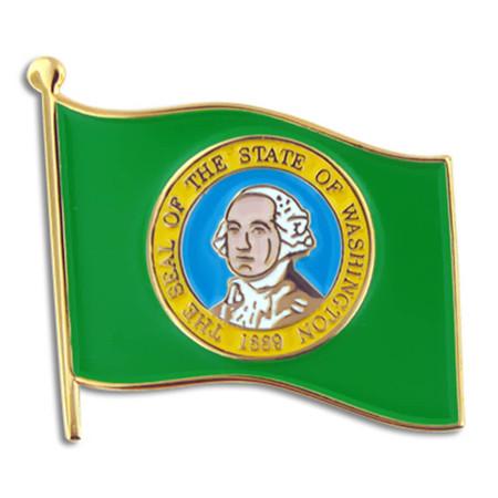 Washington State Flag Pin