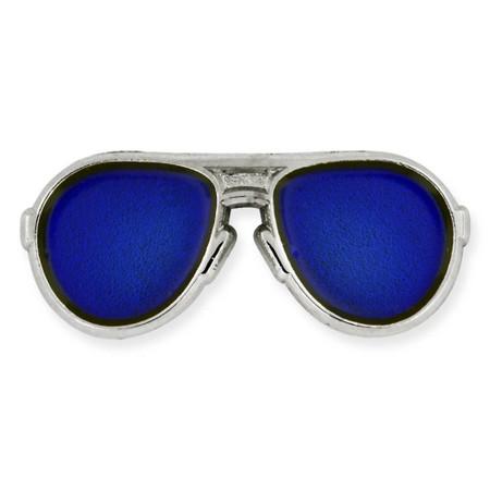 Blue Aviators Pin Front
