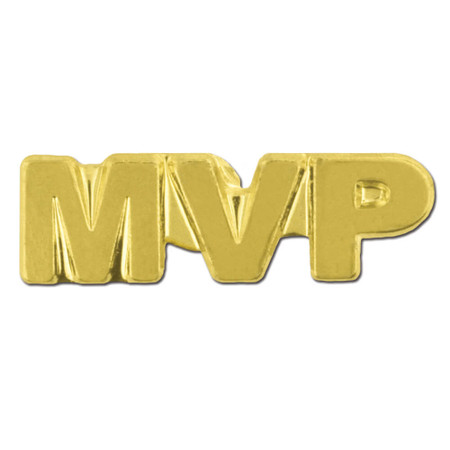 MVP Chenille Pin Front