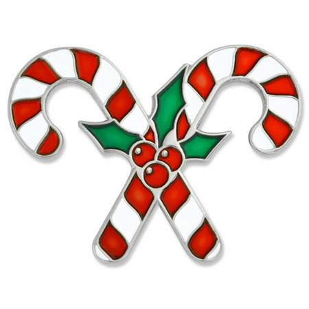 Candy Canes Pin Front