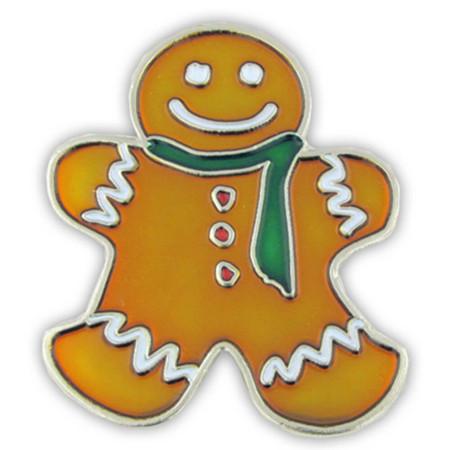 Gingerbread Man Pin Front