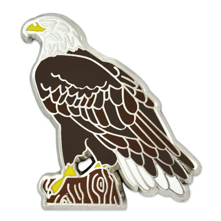 Bald Eagle Pin Front