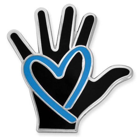 Human Trafficking Awareness Pin